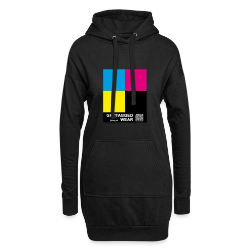 Square CMYK #1 - CMYK Collection - Hoodie-Kleid