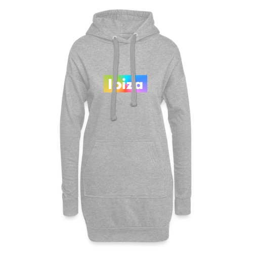 IBIZA Color - Hoodie Dress