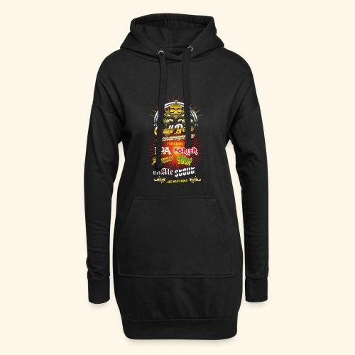 Bier-Shirt Craft Beer Extravaganza - Hoodie-Kleid