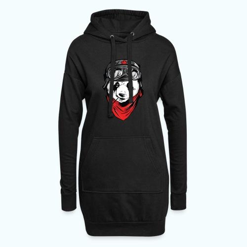 Panda pilot - Hoodie Dress