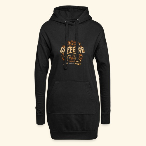 Kaffee T Shirt - Hoodie-Kleid