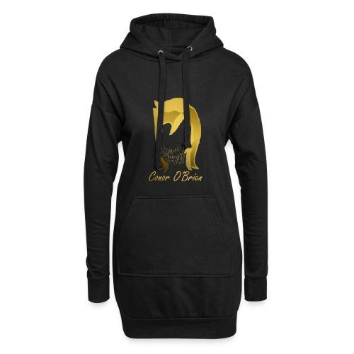 The Golden Logo - Hoodie Dress