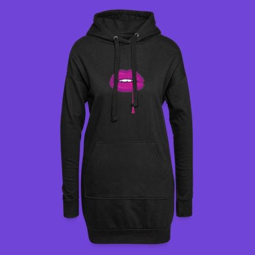 Purple Kiss - Vestitino con cappuccio
