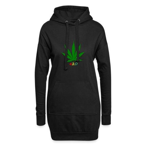 Weed - Hoodie-Kleid