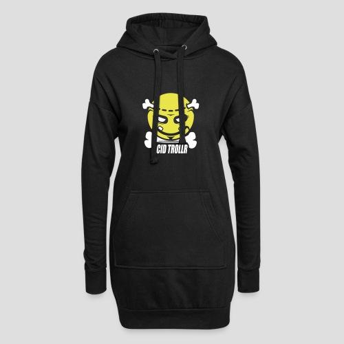 Acid TROLLR - Sweat-shirt à capuche long Femme