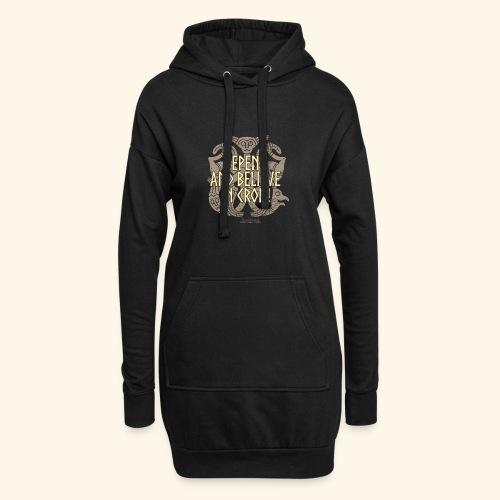 Crom T Shirt - Hoodie-Kleid