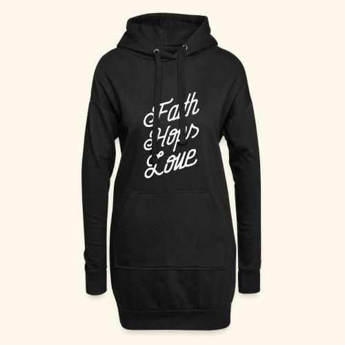 Faith, Hops, Love - Hoodie-Kleid