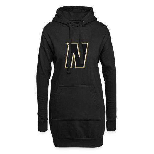Nordic Steel Black N - Hoodie Dress
