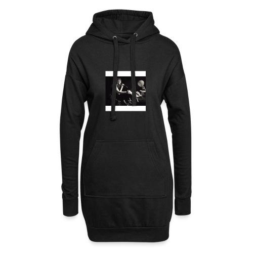taloushe - Sweat-shirt à capuche long Femme