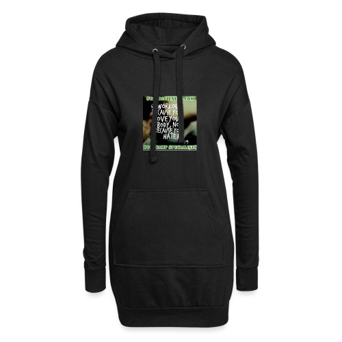 love your body - Hoodie Dress