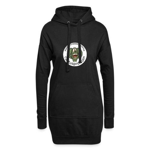 logo cf badge2 - Sweat-shirt à capuche long Femme