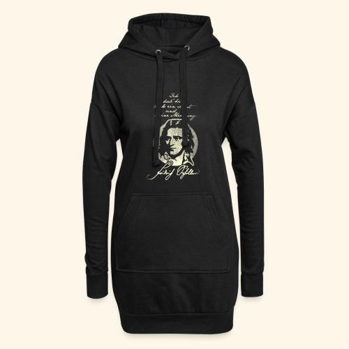 Schiller Zitat T-Shirt Design - Hoodie-Kleid