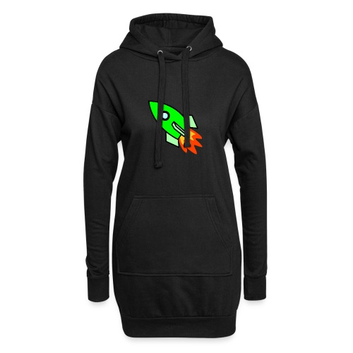 neon green - Hoodie Dress
