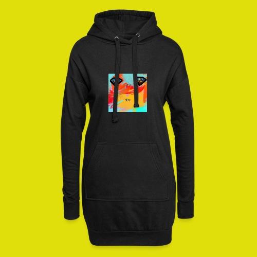 grey hoodie youtube logo - Hoodie Dress