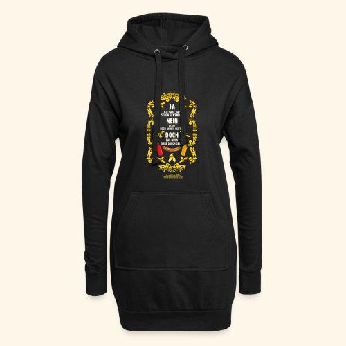 coole Geschenkidee: lustiges Grillsprüche-Shirt - Hoodie-Kleid