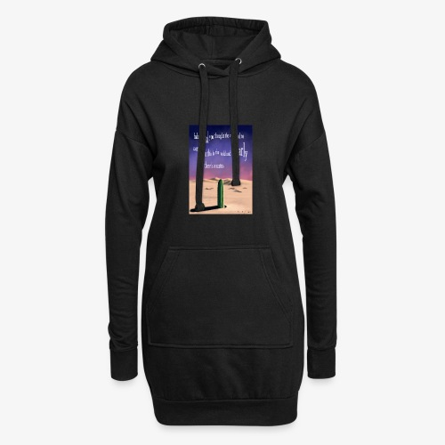 Surreal cactus - Hoodie Dress
