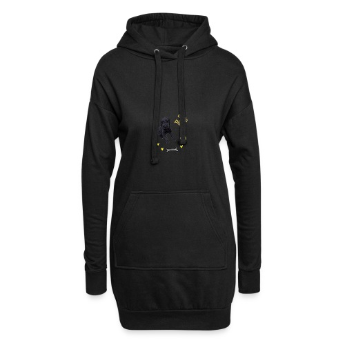 Giant Schnauzer puppy - Hoodie Dress