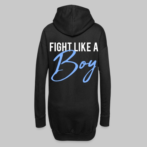 2reborn Fight like a Boy Junge Menpower Hero Gym S - Hoodie-Kleid