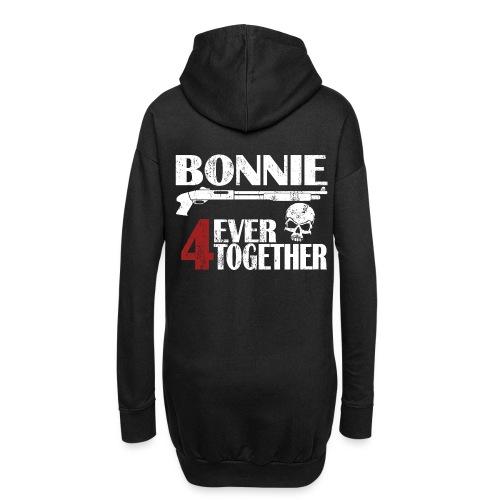 Bonnie - Clyde Geschenk Geschenkidee - Hoodie-Kleid