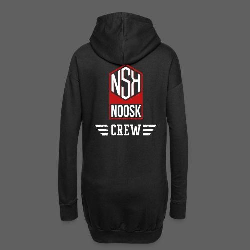 NOOSK CREW [ROUGE] - Sweat-shirt à capuche long Femme