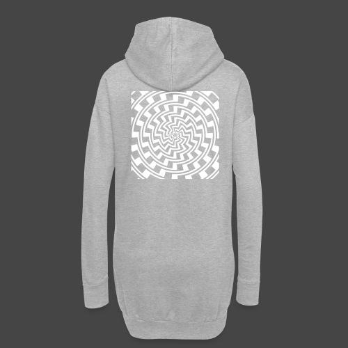 spirale 23 - Sweat-shirt à capuche long Femme