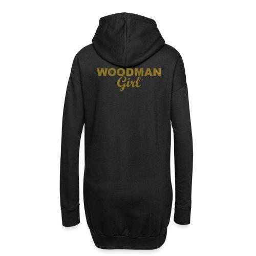 WOODMAN Girl, gold - Hoodie-Kleid