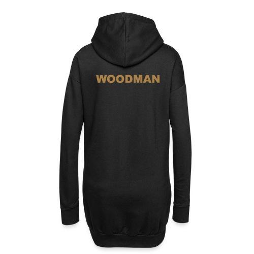 WOODMAN gold - Hoodie-Kleid
