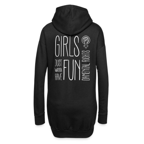 Girls just wanna have fundamental rights - Hoodie-Kleid