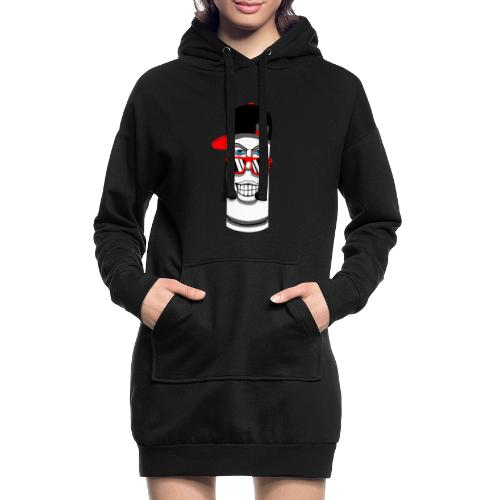 bullet - Sudadera vestido con capucha