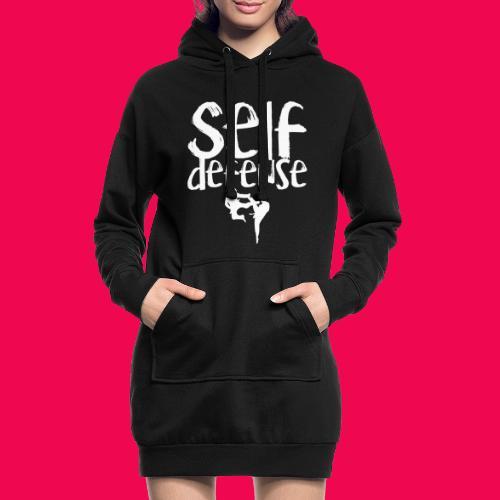 Self Defense 1.0 - Hoodie-Kleid