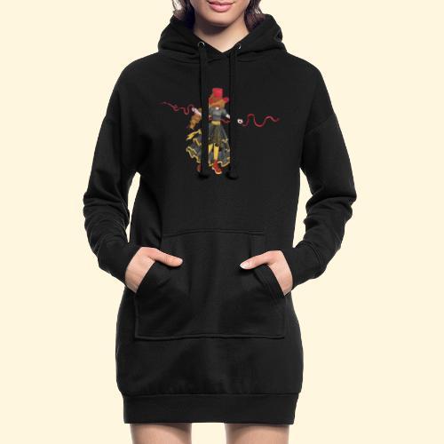 Ladybird - La célèbre uchronaute - Sweat-shirt à capuche long Femme