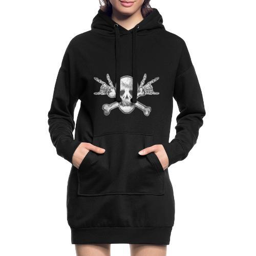 Skull with ILY Vintage - Hoodie-Kleid