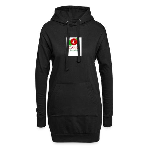 logo_cano - Sudadera vestido con capucha