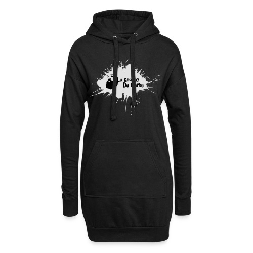 tshirt002 - Sweat-shirt à capuche long Femme