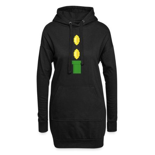 Pipeline Coin - Sudadera vestido con capucha