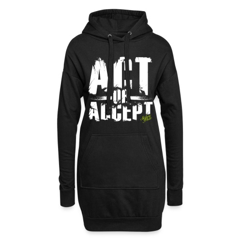 Stefano Pluto - ACT OR ACCEPT - Hoodie-Kleid