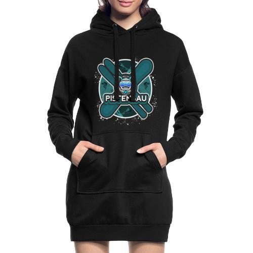 PistenSau Nervenkitzeljägergrün - Hoodie-Kleid