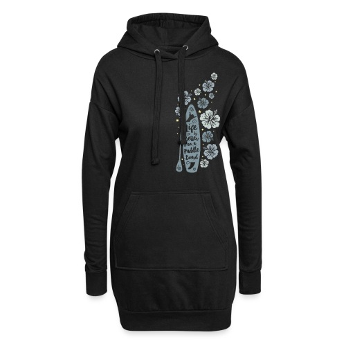 Life is Better on a Paddle Board - blue - Hoodie Dress