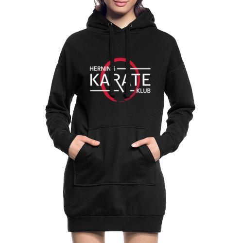 HKK Hvid - Hoodie-kjole