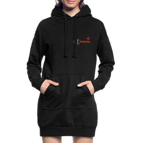 Alpha-Weibchen - Hoodie-Kleid