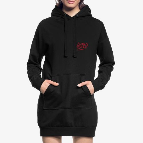 Deathwish_Collection_w4sted - Hoodie-Kleid