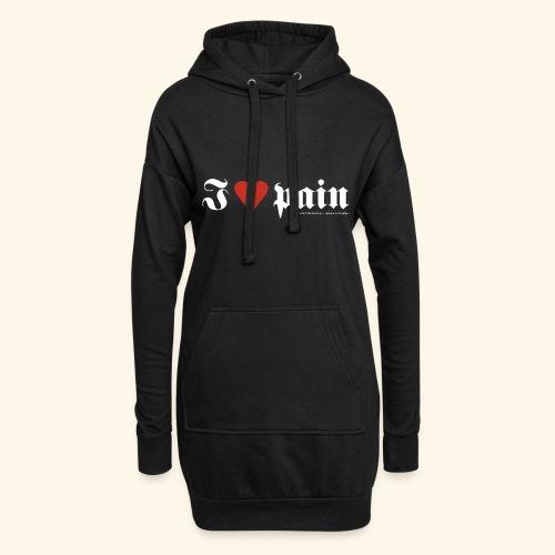 I <3 pain - Hoodie-Kleid