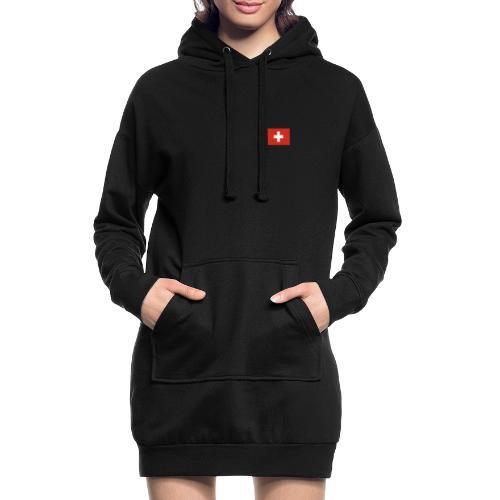 Bandera de Suiza - Sudadera vestido con capucha