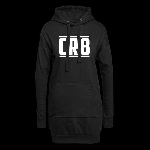 CR8 Hoodie - Black - Hoodie Dress