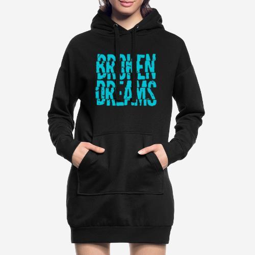 geplatzte Träume - Hoodie-Kleid