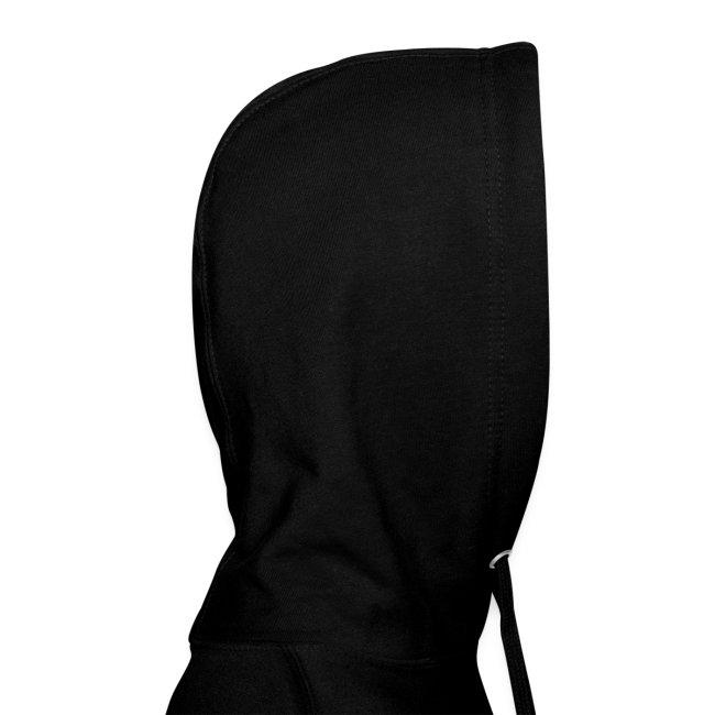 Vorschau: black cat - Hoodie-Kleid