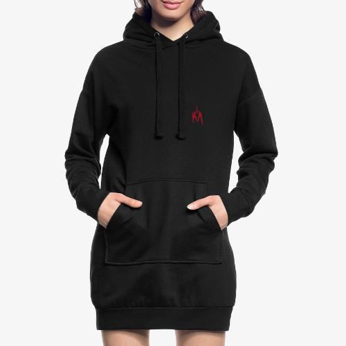 KA_Logo_rot - Hoodie-Kleid
