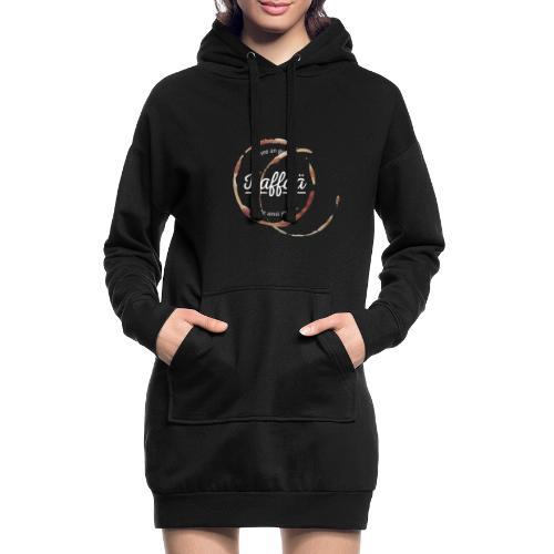 Vorschau: A guada Kaffää - Hoodie-Kleid