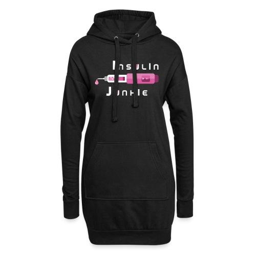 Insulin-Shirt-pink - Hoodie-Kleid