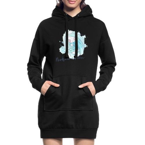 Nordseemädchen Papierboot - Hoodie-Kleid